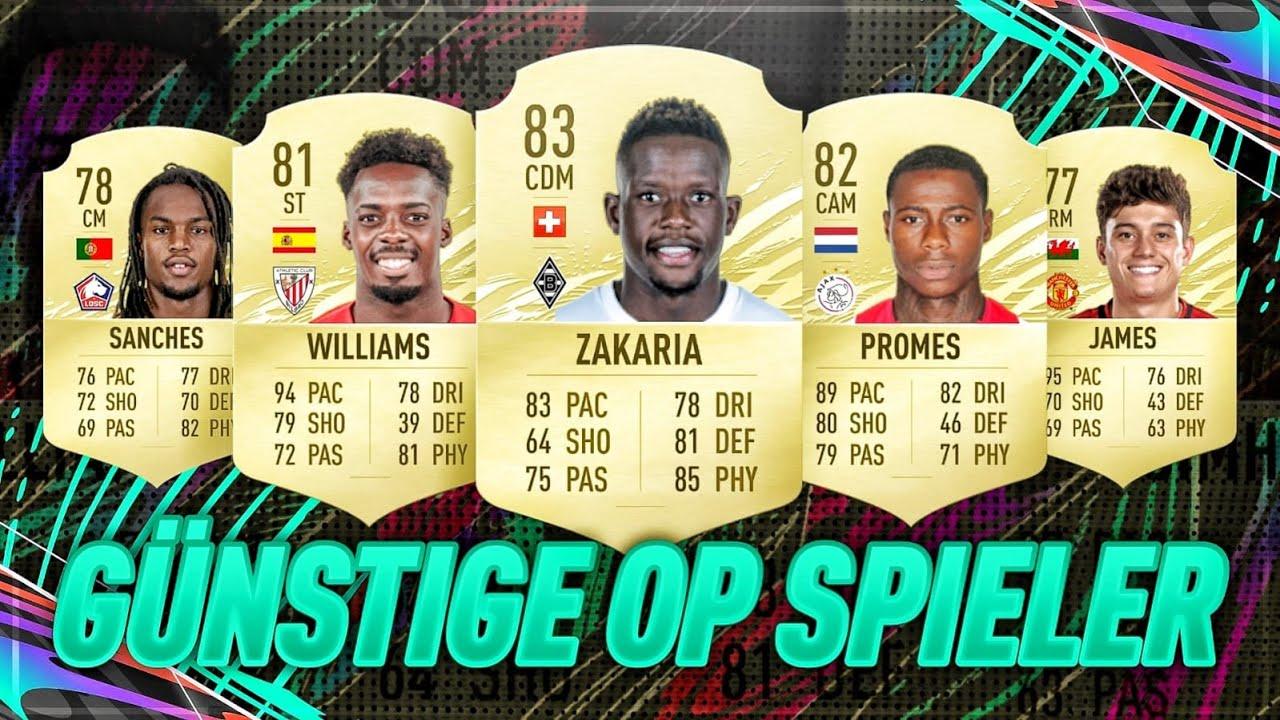 FIFA 21: NOCH MEHR GÜNSTIGE OP SPIELER FÜR STARTER TEAMS!! 🔥😍   FIFA 21 CHEAP BEASTS #2