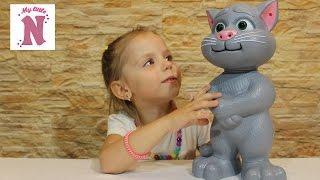 Кот Том интерактивная игрушка распаковка Tom Cat toy unpacking