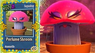 PVZ Garden Warfare 2: 'PERFUME SHROOM' New RUX Spawnable! (NEW PLANTS, GARDEN OPS) thumbnail