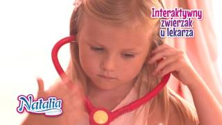 Lalka tancerka i Interaktywne Zwierzaki Natalia Collection