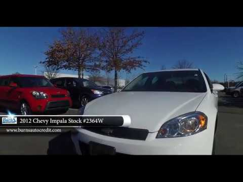 2012 Chevy Impala Stock 2364w Burns Buy Here Pay Here