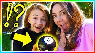 MAGIC 8 BALL CONTROLS OUR DAY | Does Kayla throw away all of her slime? | We Are The Davises