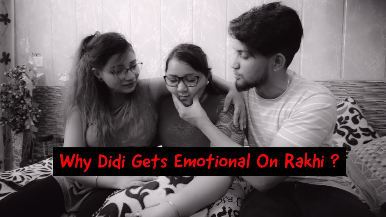 WHY DIDI GETS EMOTIONAL ON RAKHI?? | Choudhary Family | Khushi Punjaban | Vivek Choudhary