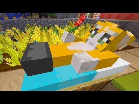 Minecraft Xbox - Quest To Sleep In The Garden (151)