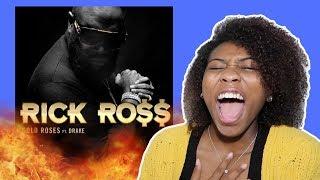 Rick Ross - Gold Roses (Audio) ft. Drake   REACTION!