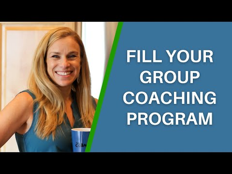 How to Create a Winning Marketing Plan to Fill Your Group Detox Program (Live Coaching Call)