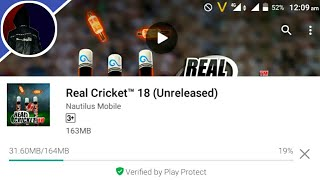 OFFICIAL DOWNLOAD REAL CRICKET 18 IN ANDROID DEVICE | REAL CRICKET 18 DOWNLOAD IN ANDROID |