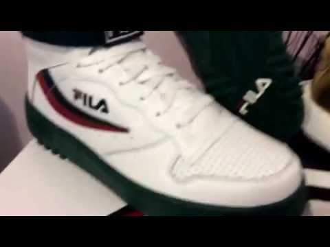 reputable site c1b26 5366c Packer shoes fila fx-100 and adidas crazy 1 award season