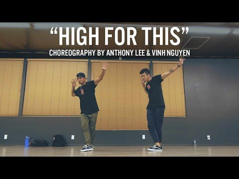 "Ellie Goulding ""High For This"" Choreography By Anthony Lee & Vinh Nguyen"