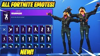 "*NEW* ""Stage Slayer"" SKIN SHOWCASE WITH +60 FORTNITE DANCES & EMOTES..!!"