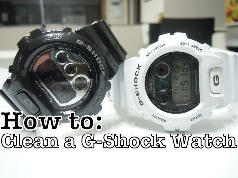 How To: Clean G-Shock (Matte & Glossy)