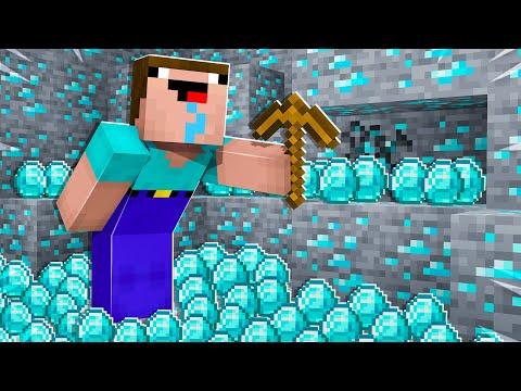 Minecraft, But Noob1234 Multiplies Diamonds...