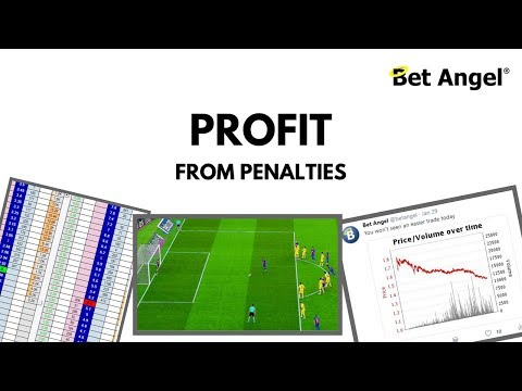 Betfair Football Trading - Profit From Penalties