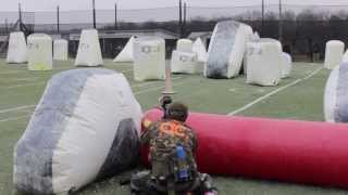 San Antonio X-Factor vs Texas Storm | Raw Paintball Practice | 2014 PSP Dallas Open Scrimmage