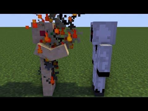 Minecraft Animations Battles: SCP-173 Vs. Entity 303. TigerEye35