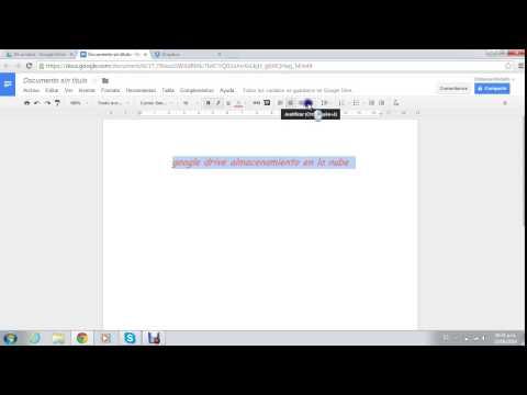 Almacenamiento en la nube google drive y dropbox