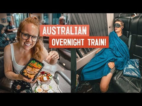 Australia OVERNIGHT SLEEPER TRAIN! - 13 Hour Journey (Noosa To Airlie Beach | Wild Kiwi Tours)