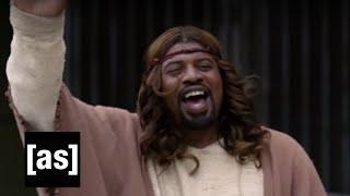 "Sweet Release | Black Jesus S2E1 ""No Room for Jesus"" | Adult Swim"