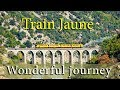 Wonderful journey on the Yellow Train in Pyrenees-Orientales, France | Train Jaune