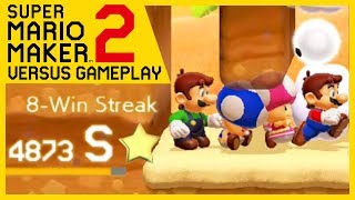 Super Mario Maker 2 - Online Multiplayer Versus #84 (HUGE WINSTREAK!)