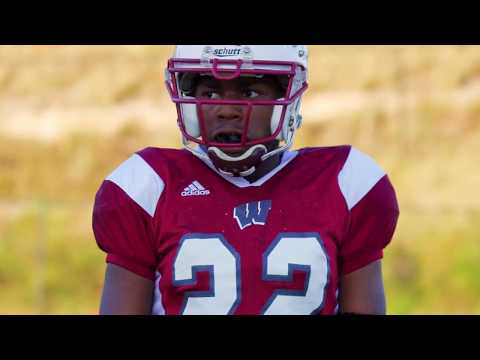 White Knoll Middle School Football 2017