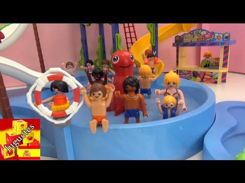 Playmobil pelicula en espa ol fiesta en la piscina de for La piscina pelicula