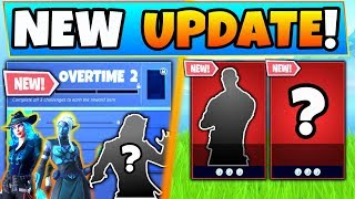 Fortnite OVERTIME CHALLENGES 2 *NEW* SKINS! + Marvel Skins! (Battle Royale Update)