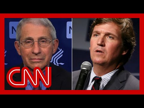 Dr. Fauci responds to Tucker Carlson's vaccine remarks