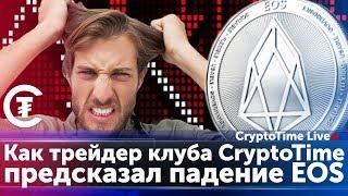 История о том, как трейдер клуба CryptoTime предсказал падение EOS
