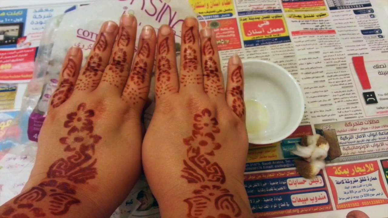 How To Use Henna Stencils For Quick Designs