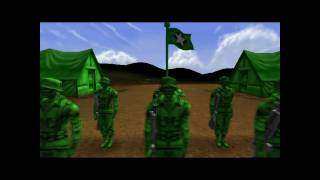Army Men RTS Mission 1: The Thin Green Line Walkthrough