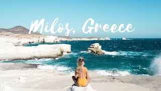 MILOS, GREECE | A WORLD LIKE NO OTHER [DJI, GoPro HD]
