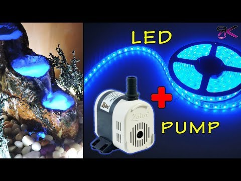 2 Ways to Connect LED & Pump to make Personalized Fountain ...
