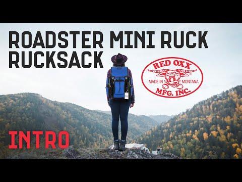 Red Oxx Roadster Mini Ruck Rucksack