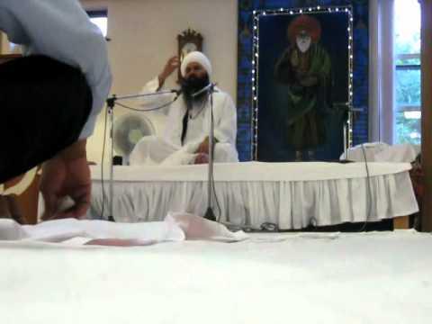 Sant Baba Baljit Singh Ji Dadu Sahib 3.8.11 GNG Huddersfield Part 4