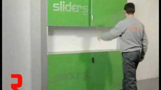 Richelieu Hardware - Slide Over Door System For Upper Cabinet: Adjustments