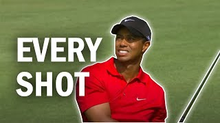 Tiger Woods Final Round at the 2008 US Open | Every Shot
