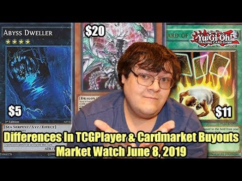 Differences In TCGplayer & Cardmarket Buyouts - Yugioh Market Watch June 8, 2019