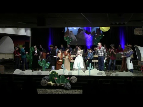 Academy Play - The Lone Stranger   Old Time Baptist Church 180323FR-N1