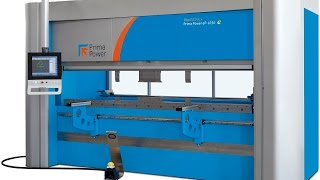 Prima Power eP Press Brake Machine - Electric Bending Technology