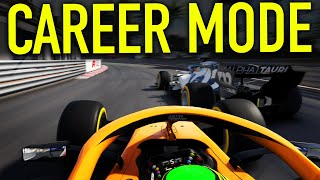 Monaco Gp! | Playing A Modded F1 2020 Career Mode
