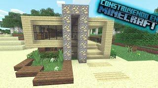 Como hacer una casa moderna en minecraft para survival