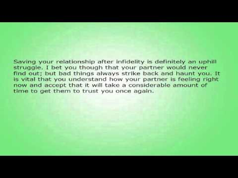 How to get trust back in a relationship after cheating