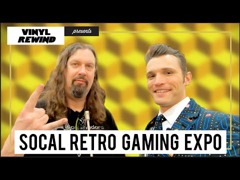My Trip to The SoCal Retro Gaming Expo 2019 | Vinyl Rewind