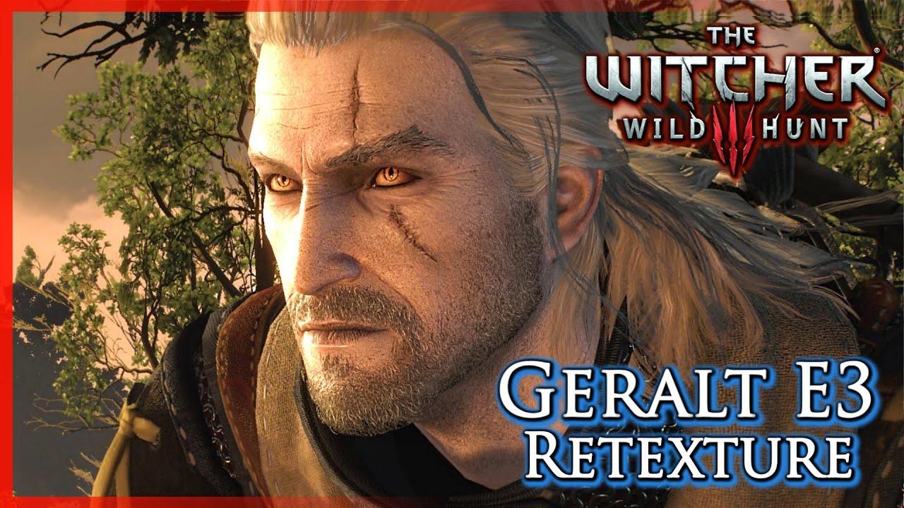 Witcher 3: Geralt E3 Trailer Re-Texture (Mod) - Most Popular