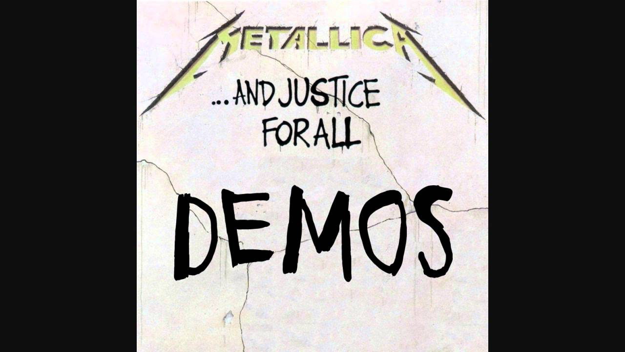 Metallica - And Justice For All DEMOS (Full Album)