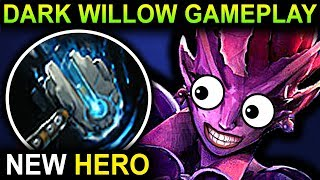 DARK WILLOW - DOTA 2 PATCH 7.06 NEW META PRO GAMEPLAY (MID ONLY)