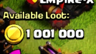 BIGGEST LOOT IN MY Clash of Clans HISTORY - EPIC attack against a FULLY MAXED base at 4200