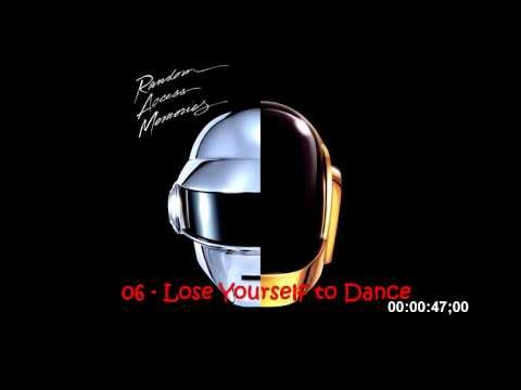 Daft Punk Random Access Memories Full Album in 2 min