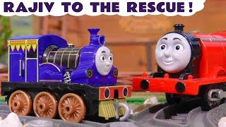 Thomas & Friends Big World Big Adventures Rajiv To The Rescue with funny Funlings TT4U